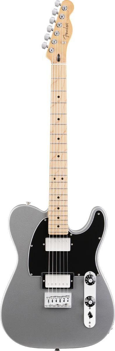 Fender Blacktop™ Telecaster® HH MN - Silver