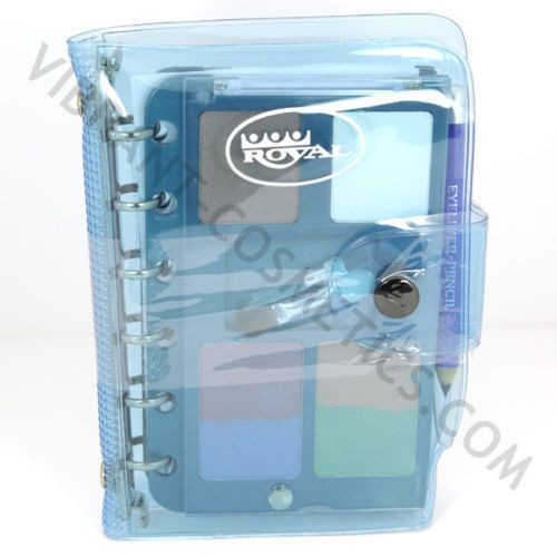 ROYAL DOUBLE COSMETIC ORGANISER BLUE IDEAL XMAS GIFT