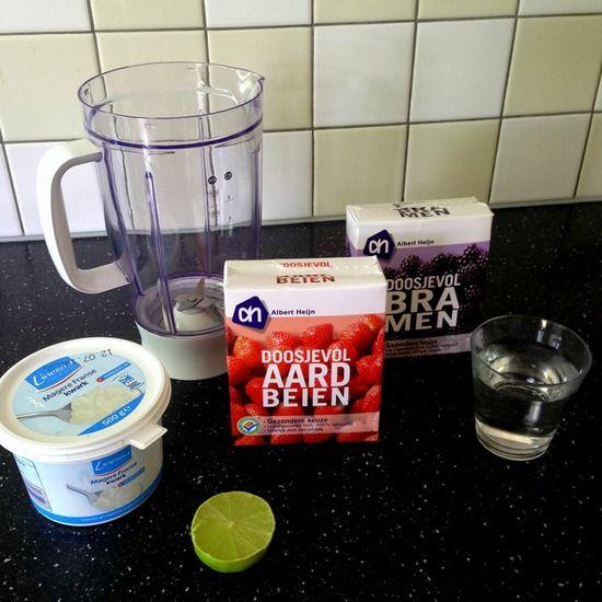 Een super lekker ontbijtje wat je snel klaar maakt! Lekker vullend en gezond is deze smoothie!
