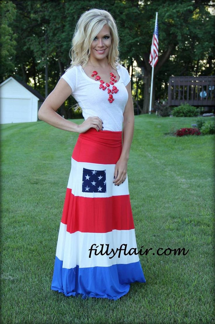 All in My Pride Maxi - Perfect for your summer activities including Memorial Day and the 4th of July. Get yours today at Filly Flair!