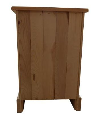 Our furniture is made with solid pine tongue and groove backs - beautiful furniture at factory prices