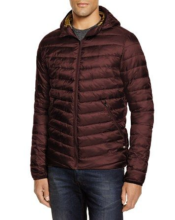 120Scotch & Soda Hooded Nylon Quilted Puffer Jacket ...