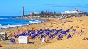 Plaja Maspalomas Insula Gran Canaria