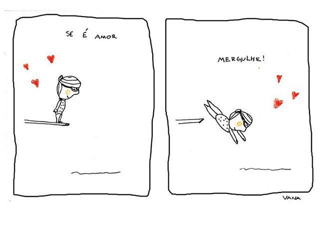 Leves, simples e positivas: assim são as mensagens das tirinhas da ilustradora brasileira Vana Campos. Com um olhar projetado para o outro, seus sentimentos e razões, ela é autora das páginas Vai de pijama e Porque Sim, que trazem cor e graça a momentos do dia a dia. Inspirar: essa é a proposta da Porque Sim, página que reúne ilustrações...
