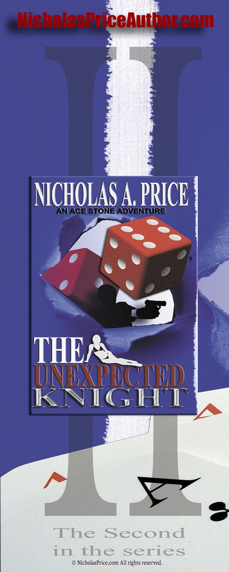 The Unexpected Knight Book2 in the Ace Stone Adventure Series by Nicholas A. Price, Crime Thriller Series,  Organized Crime, Fiction books