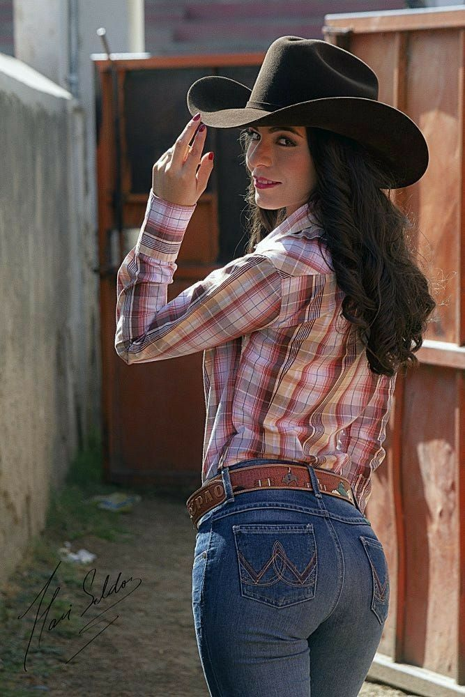 Western girls with chaps — pic 2