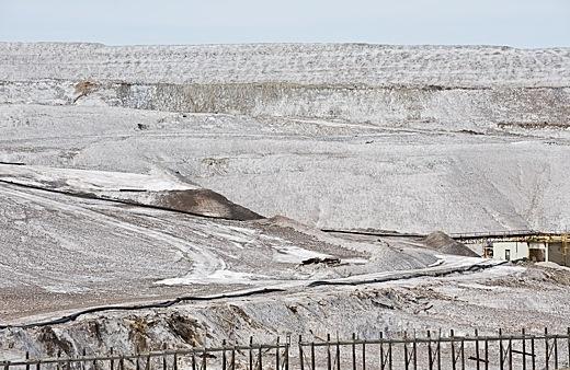 No its a potash mine near Esterhazy, Saskatchewan, Canada