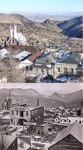If you want to go back in time....seriously this is your place. Loved it! Virginia City Nevada. We had a drink in the authentic saloon. We drove with good friends up a mountain without guard rails to get there. It was like being on the top of the world!