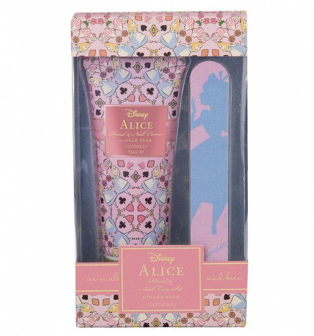 Alice in Wonderland Disney Manicure Set