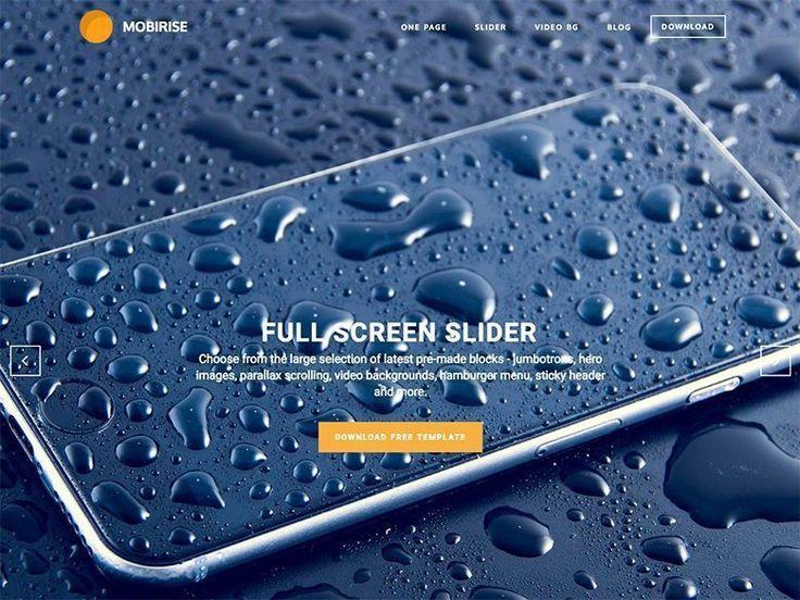 Mobirise - Plantilla gratuita HTML5 y CSS3 para negocios, portafolios y blogs