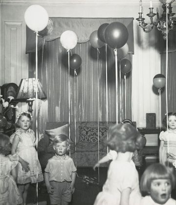 Wonderful! Kensington Children's Party. c. 1934 by genius Bill Brandt