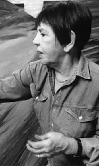 Painter, Rita Letendre, (b. 1928) a member of the Automatiste Movement, received the Order of Ontario on January 13, 2016.