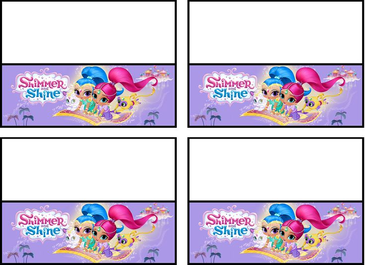97 Best Images About Shimmer Amp Shine Printables On