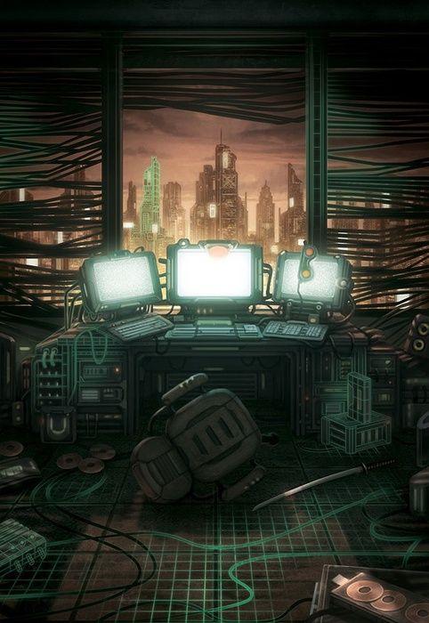 Post Apocalypse / Dystopia - Snowcrash by Pene Menn - Imgur
