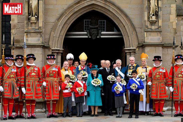 En ce Jeudi Saint, c'est à Leicester que la reine Elizabeth II a choisi de se rendre pour perpétuer la tradition du Maundy Service.