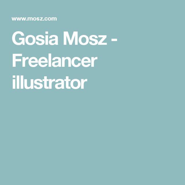 Gosia Mosz - Freelancer illustrator