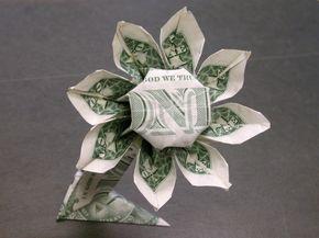 Dollar bill daisy flower