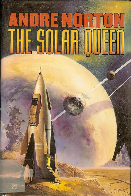 The Solar Queen - Andre Norton - cover artist Julie Bell