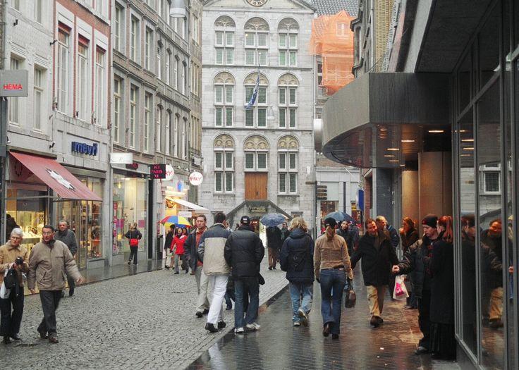 Maastricht Netherland's shopping street