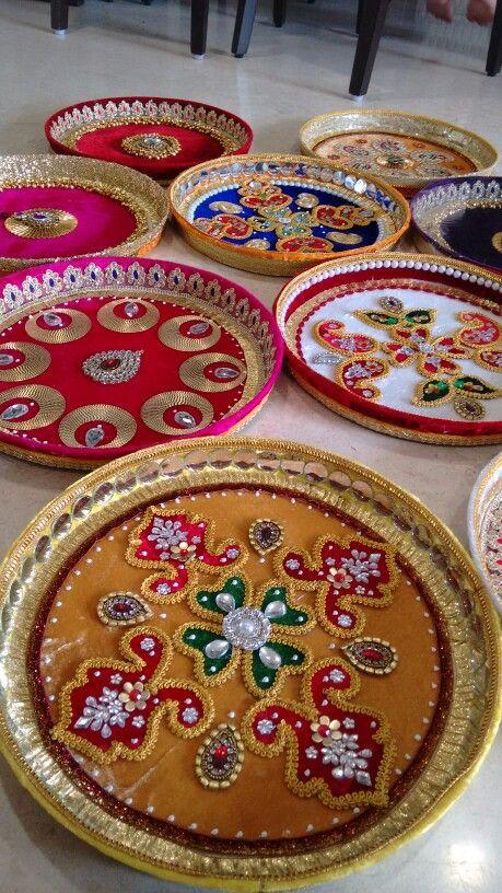 Puja thali- Vrishti Creations