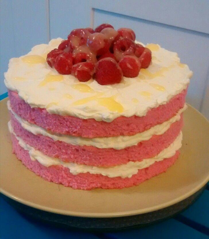 Pink Lemonade Cake!