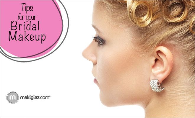 Tips for Bridal Makeup  English Article http://makigiaz.com/blog/tips-for-bridal-makeup/ Greek Article http://makigiaz.com/blog/bridal-makeup-tips/