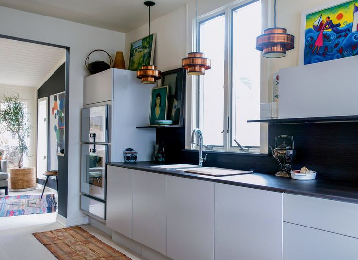 Kitchen renovation in New England by Susan Serra