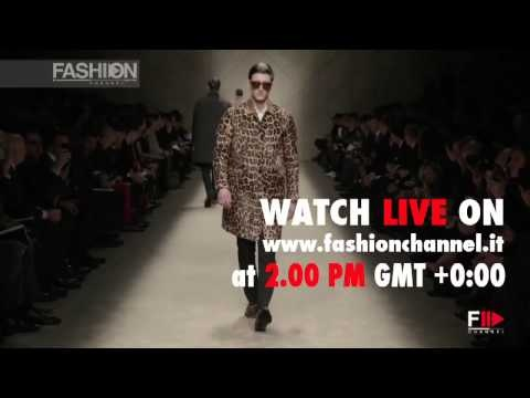 Don't miss the Burberry Live Streaming! Watch it TOMORROW on www.fashionchannel.it STAY TUNE!!!