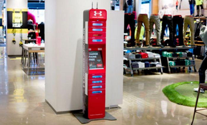 Cargador móviles para clientes, la última estrategia para aumentar el tiempo de permanencia en las  tiendas....