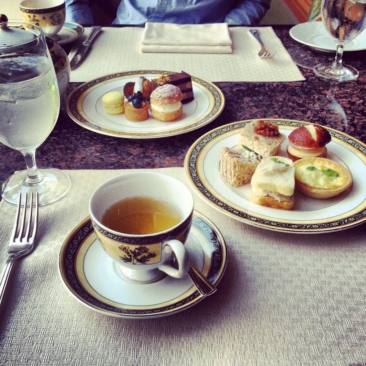 'Afternoon tea at The Peninsula Hotel on Michigan Street is a must-do when one is in Chicago. -Olivia Lopez'