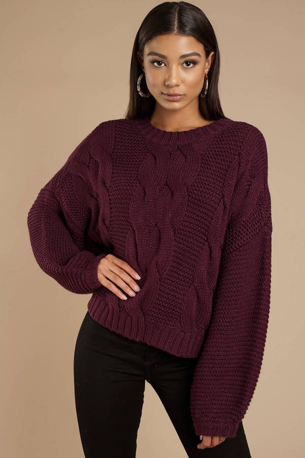 7bb4eb4cf8fa Kacey Chunky Knit Sweater in 2019