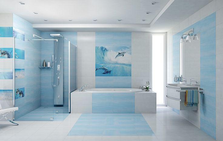 http://www.kreocen.pl/kreowskaz/2015/marzec.html?page=19 #bathroom #bath #łazienka #lazienka #homedecor #styl #marynistyczny #design #nowoczesny #kreowskaz #wanna