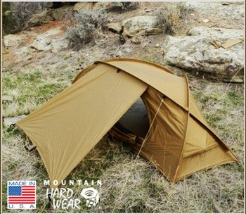 Mountain Hardwear Hunker 4 Season Tent, as used by Navy Sealies :) 4lb,15oz, love the design....How many grams/ kg is that kids????