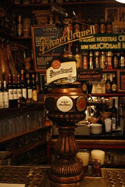 """Bodegas La Ardosa - Since 1892        In 1892, Mr. Rafael Fernández Bagena created and founded the famous chain of restaurants """"Bodegas La Ardosa"""" of Madrid. This tavern has the oldest Guinness beer tap in Madrid, and is also accredited by Czech brewers as having the best pilsner beer in Spain."""