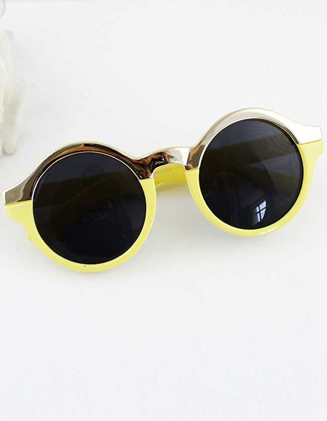 Round Design Colorful Fashion New Arrivals Summer Women Sunglasses