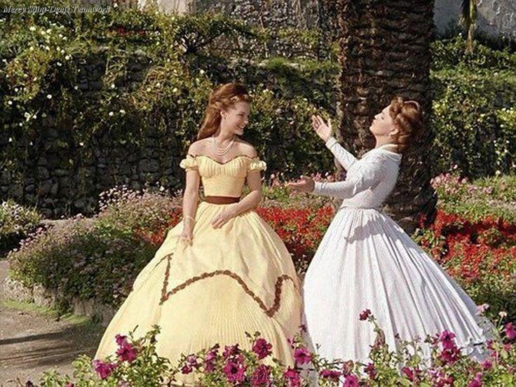 Magda and Romy Schneider as Elisabeth of Austria in Sissi (3) - Schicksalsjahre einer Kaiserin 1957.