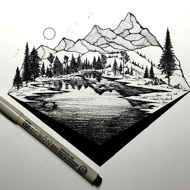 landscape drawing in pencil tumblr. landscape drawing in pencil tumblr
