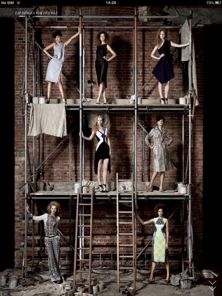 Scaffolding and fashion...
