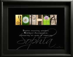 Sophia, Meaning of Sophia, Sophia name meaning, Sophia letter art name , Sophia first name meaning,  Sophia Alphabet Photography, What does Sophia mean, Gift for Sophia? Downloadable Images
