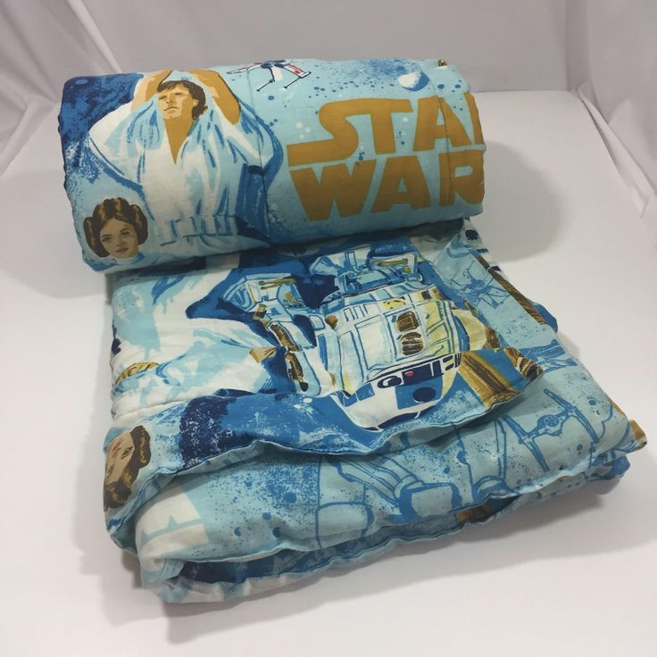 A personal favorite from my Etsy shop https://www.etsy.com/listing/545286986/vintage-star-wars-sleeping-bag