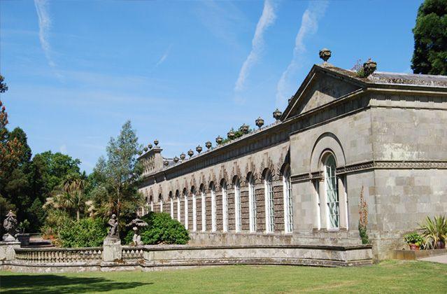 The Orangery & Orangery Gardens - Margam Park, Port Talbot