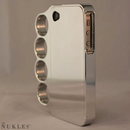 want.: Iphone Cases, Iphone 4S, Stuff, Knuckle Iphone, Phones Cases, Cell Phones Covers, Iphone Covers, Things, Brass Knuckle