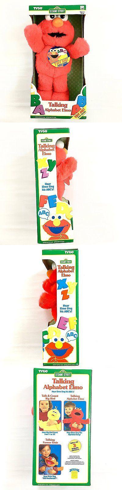 Muppets Sesame Street 2627: 15 Talking Elmo Loves You Plush - Vintage Tyco 1997 -> BUY IT NOW ONLY: $117.16 on eBay!