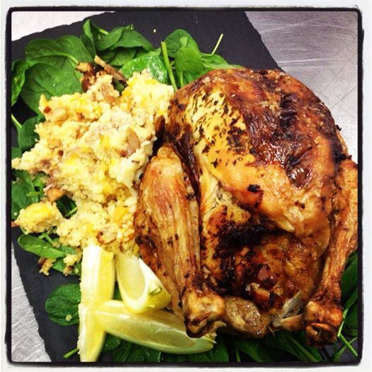 Lemon Infused Roast Chicken with Cous Cous Stuffing - Bunbury Farmers Market