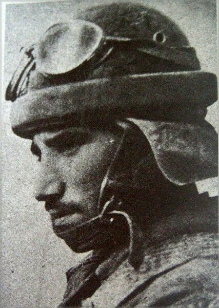 Italian tank crewman - North Africa, pin by Paolo Marzioli