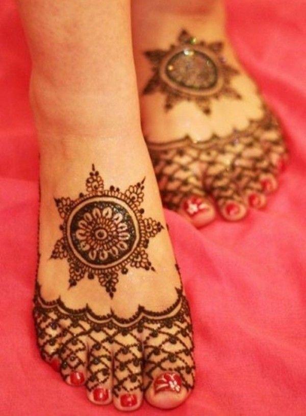 New Bridal Mehndi Designs For Feet-01                                                                                                                                                                                 More