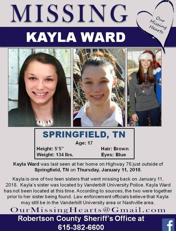 Find Missing Kayla Ward!