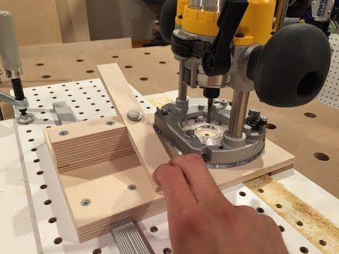 The Fastest Homemade Shelf Pin Hole Drilling Jig (Free Plans) - YouTube