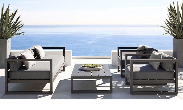 Outdoor Rh Modern Restoration Hardware Pinterest A Well Patio And Furniture
