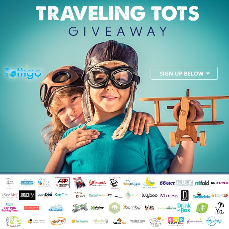 Tottigo is hosting an awesome giveaway!  (By the way their Pack N Potty is awesome - it's a portable potty seat to use on public toilets to protect kids from germs!  Enter for a chance to win a bundle of 53 amazing travel-themed and family products!  Once you enter look for a secret reward - you will love it!